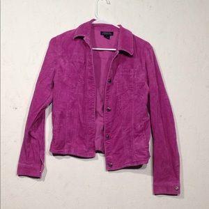 Jones New York   Corduroy Jacket Blazer Size S